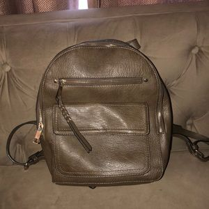 Gap faux leather backpack